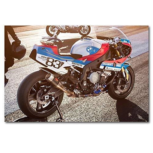Superbike Racing Motocicleta_Puzzle Adulto 1000 Piezas_Se Puede Usar como un Juego de Rompecabezas o Pelota de estrés para Adultos_50x75cm