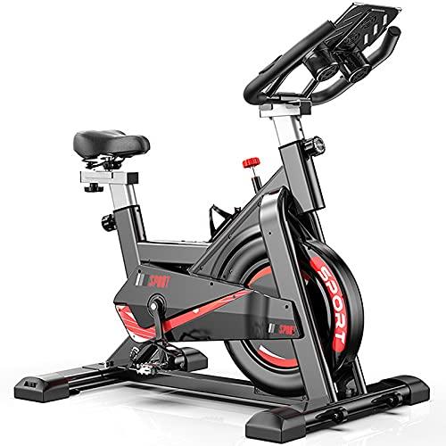 QQ HAO Inicio Ejercicio Silencioso Spin Bike, Bicicleta De Ejercicios Estacionarios, Equipo De Aptitud Deportivo Interior 330Lb De Carga De Carga
