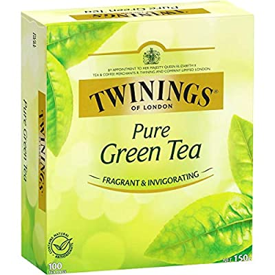 Twinings Tea – All Natural, Pure Green Tea Bags – 100 Count