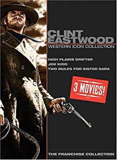 Clint Eastwood Western Icon Collection: (High Plains Drifter / Joe Kidd / Two Mules For Sister Sara)