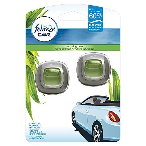 Febreze Auto-Lufterfrischerclip Frühlingserwachen 2Einheiten, 2er Pack (2 x 2 Stück)