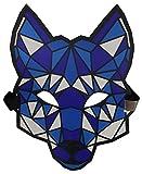 nowolights geräuschaktive LED-Maske für Raves Festival Techno EDM Clubs Motto Partys elektrisch...