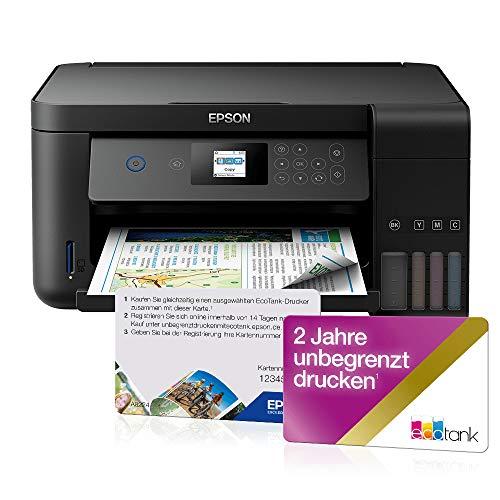 EPSON EcoTank ET-2750 Multifunktionsdrucker + 2 Jahre unbegrenzt drucken*