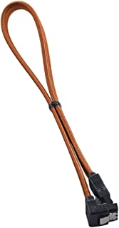 CableMod ModFlex Right Angle SATA 3 Cable 60cm - Orange