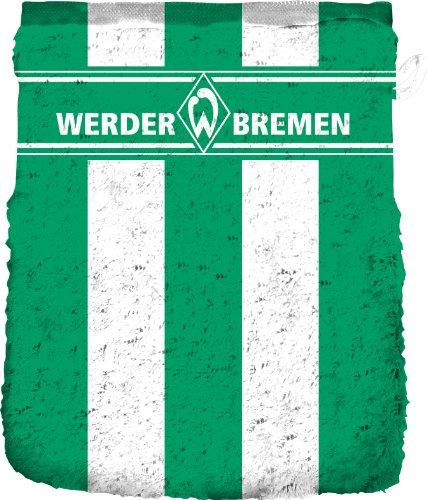 SV Werder Bremen Waschhandschuh 'Blockstreifen'