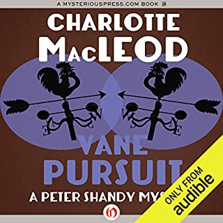Vane Pursuit                   By:                                                                                                                                 Charlotte MacLeod                               Narrated by:                                                                                                                                 John McLain                      Length: 7 hrs and 24 mins     53 ratings     Overall 4.5