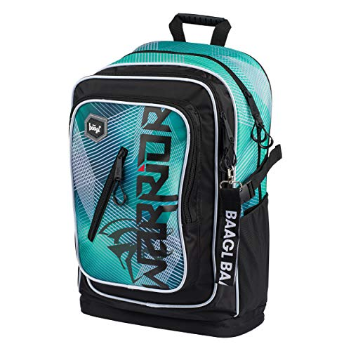 School Backpack For Boys, Back Pack for Teen Kids with Chest Strap, School Bag Bookbag Elementary and Middle School (Warrior)