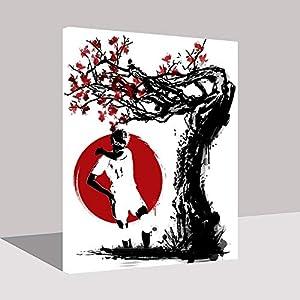 Puzzle 1000 Piezas Arte de Imagen Abstracta de Pintura de animación Japonesa Popular Puzzle 1000 Piezas educa Rompecabezas de Juguete de descompresión intelectual50x75cm(20x30inch)