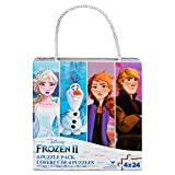 Disney Frozen 2 4-Pack of Jigsaw Puzzles for Families, Kids, and Preschoolers Ages 4 and Up