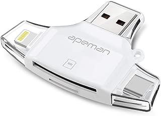 APEMAN 4 in 1 SD/Micro SD Card Reader