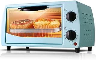 Mini Horno Eléctrico para Tostar Barbacoa Herramientas De La Torta De Pizza Máquina De Hacer Pan 60Min Sincronización, para Hornear Cocinar Asar La Carne Asada