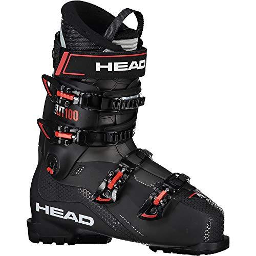 HEAD - Chaussres De Ski Edge LYT 100 Black/Red - Homme - Taille 29.5 - Noir