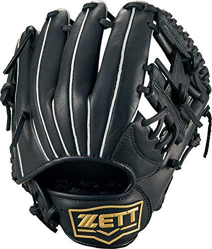 ZETT(ゼット) 少年野球 軟式 グランドメイト グラブ (グローブ) 新軟式ボール対応 オールラウンド用 ブラック(1900) 右投げ用 BJGB76910