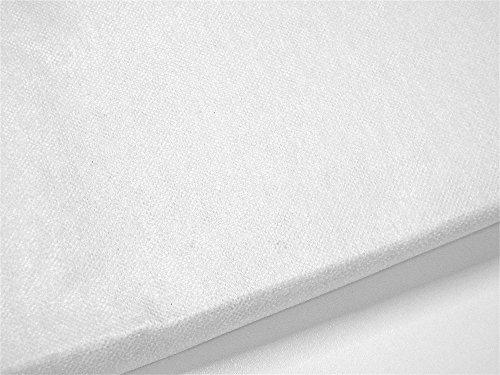 Bügelvlies weiß 250x90cm Zick-Zack-Stoffidee - Das Bügelvlies kann für alles verwendet werden, was leichten Stand benötigt. Zum Beispiel zur Verstärkung von Baumwollstoffen für Taschen, Kosmetiktaschen, Buchhüllen, zum Formen von Kragen, Bügelfalten oder einfachen Bastelarbeiten - Einfache Anwendung