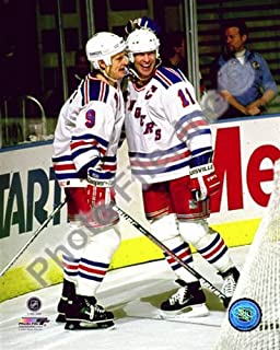 NHL Mark Messier & Adam Graves New York Rangers Action Photo 8x10#5