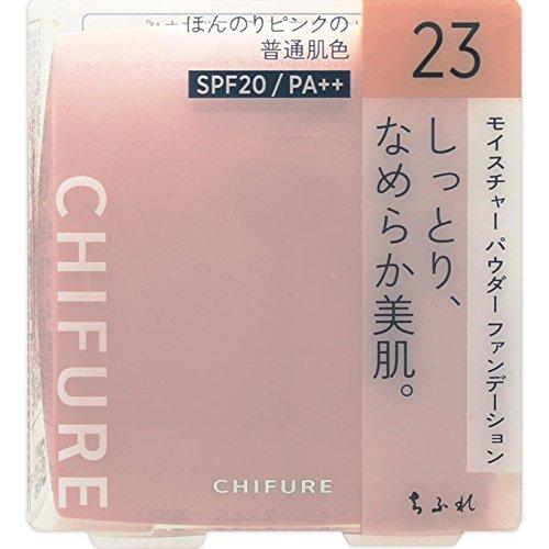 ちふれ化粧品 モイスチャー パウダーファンデーション(スポンジ入り) 23 ピンクオークル系 MパウダーF...