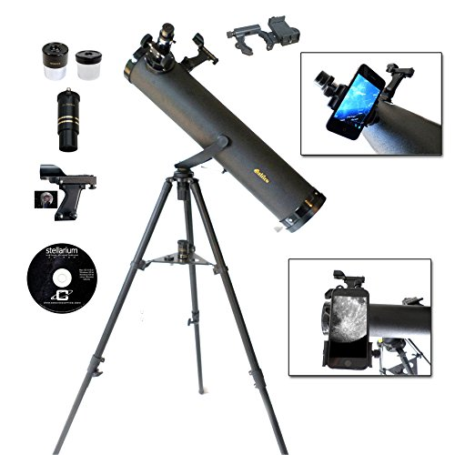 Galileo 800mm x 95mm Smartphone Photo Adapter Reflecting Telescope …