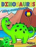 Dinosaures Livre de Coloriage Enfants: Livre de coloriage pour enfants de 4 à 8 ans, drôles de dinosaures, coloriage enfants