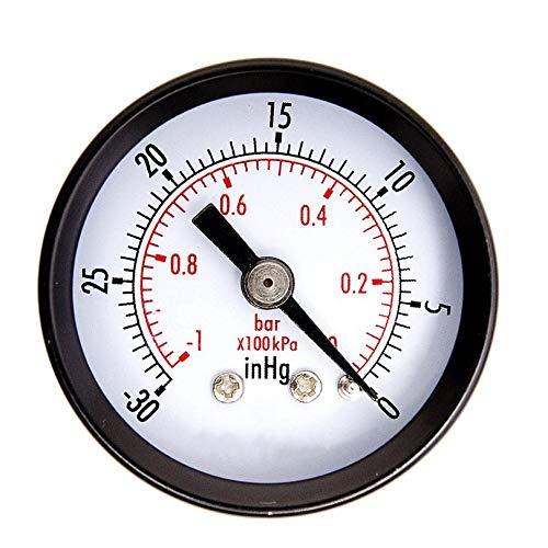 Zinniaya Black High Precision Car Motor Bike Dial Tire Mini Tire Pressure Gauge Meter Measurement Fetal Pressure Monitor Tools