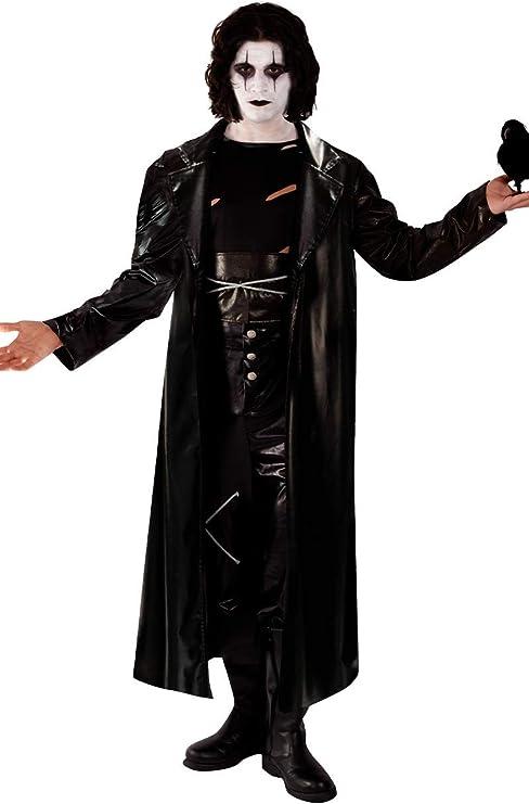 50 Men's Vintage Halloween Costume Ideas Orion Costumes Mens Gothic The Crow Movie Avenger Fancy Dress Costume Halloween Black  AT vintagedancer.com