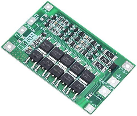 ANMBEST 3S 11 1V 12V 12 6V 60A 18650 Charger PCB BMS Protection Board Li ion Lithium Battery product image