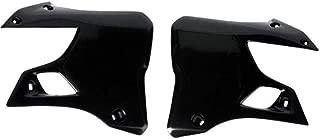 Ufo Plastic Radiator Cover Black for Suzuki RM 125 250 93-95