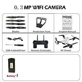 Zantec sg7002MP rc Drone et Contrôle avec Caméra WiFi FPV Pliable sans Tête vs e58 30w/Fotocamera
