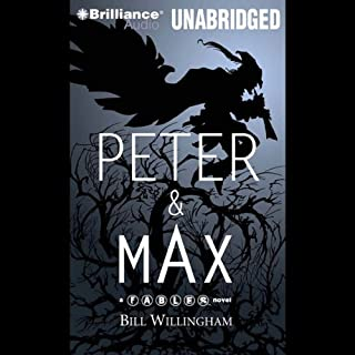 Peter & Max audiobook cover art