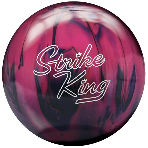 Brunswick Strike King Bowling Ball, Purple/Pink Pearl, 10-Pound