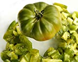 30+ ORGANICALLY GROWN German Aunt Ruby's Green 1 LB Tomato Seeds, Heirloom NON-GMO, Indeterminate,...