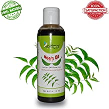 Neem Carrier Oil (100ML) Pure Natural Cold Pressed Refined Cosmetic Grade For Aromatherapy, Skin Treatment, Hair Care, Face