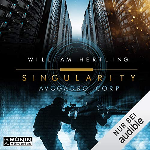 Avogadro Corp. (Singularity 1)  audiobook cover art