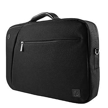 Vangoddy Slate 3 in 1 Hybrid Universal Laptop Carrying Bag Size 15.6 inch Onyx Black