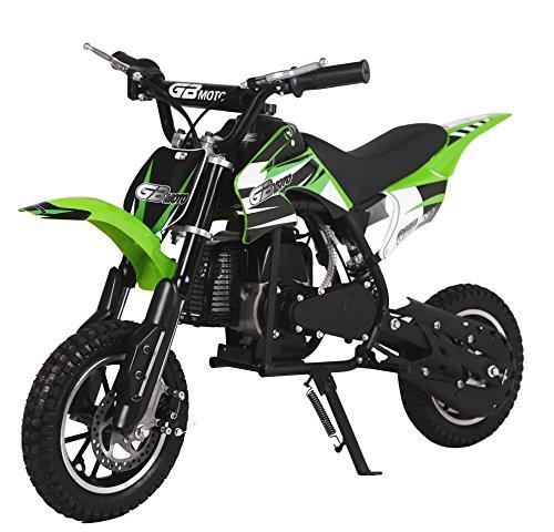 49CC 2-Stroke Gas Power Mini Dirt Bike,Pit Bike Dirt Off Road...