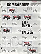 2005 BOMBARDIER ATV RALLY 200 P/N 219 100 195 SHOP/SERVICE MANUAL (587)