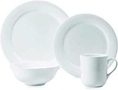Amazon Com Amazonbasics 18 Piece Dinnerware Set Service For 6