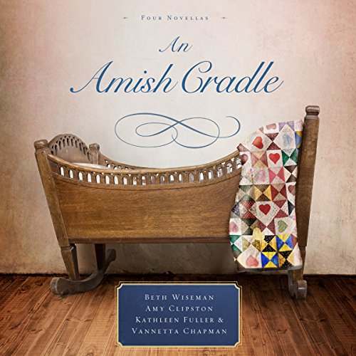 An Amish Cradle audiobook cover art