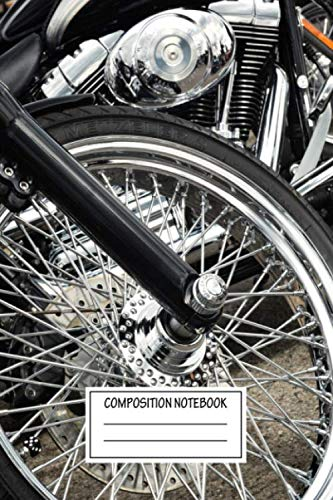 Composition Notebook: Cars Harley...