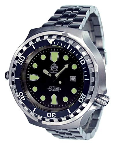 Tauchmeister Germany Big Size Diver Watch -...