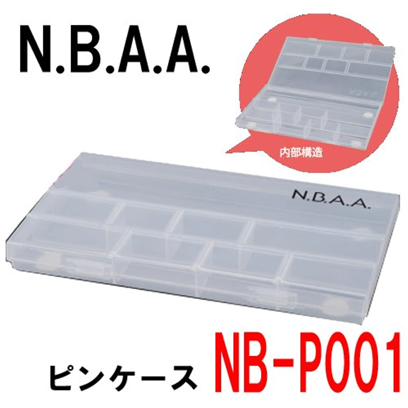 侵略周辺希少性N.B.A.A. NB-P001 ピンケース