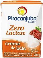 Creme de Leite Zero Lactose Piracanjuba 200g