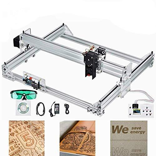 S SMAUTOP Kit per Incisori Laser CNC 40x30cm 2 Assi con Modulo 7000mW Controllo GRBL Macchina per Intaglio del Legno Macchina per Incisione Laser