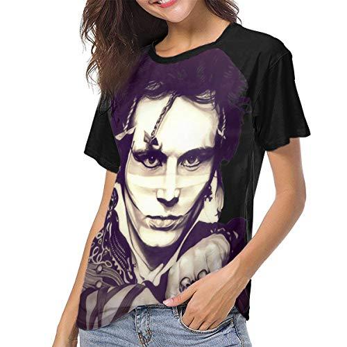 Women's Adam Ant T-shirt, S to XXL