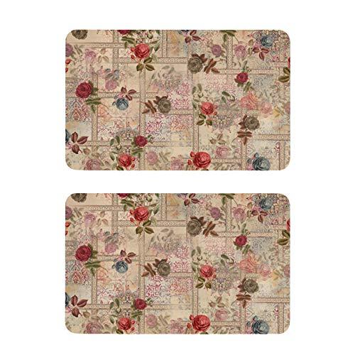 Mnsruu Imanes para nevera, color rosa de acuarela, para lavavajillas, 2 unidades, imanes decorativos para pizarras blancas de cocina