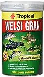Tropical Welsi Gran Granulado para Peces Ornamentales Que comen el Suelo, 1 Unidad (1 l)