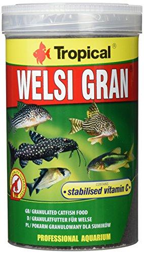Tropical Welsi Gran Granulat für Bodenfressende Zierfische, 1er Pack (1 x 1 l)