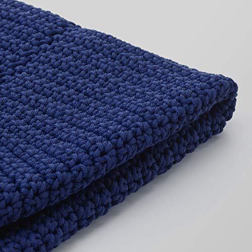 Ikea Otteron Pouf Bezug Indoor/Outdoor blau 18 7/8 804.112.10