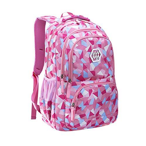 Xuthuly Studenten Mädchen Schulter Schultasche Oxford Kinder Männer Frauen Tasche Reiserucksäcke