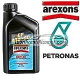 AREXONS PETRONAS EP 80w90 Olio Cambi-Differenziali Trasmissioni API GL5 1 Litro