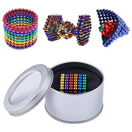 HapeeFun 8 Colores Juguetes de Rompecabezas mágico Juguetes